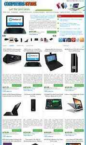 Computer And Laptop Store Ebay Amazon Commission Junction Affiliate Website