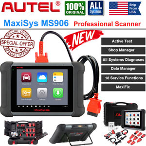 Autel Maxisys Ms906 Bidirectional Scanner Auto Diagnostic Scan Tool Code Reader