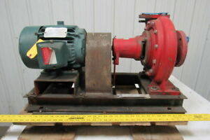 Bell Gossett 1510 Centrifugal Pump 3 In 2 1 2 Out Flanged 5 Hp230 460v