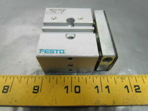 Festo Pneumatic Guided Drive Double Action Air Cylinder 12mm Bore 10mm Stroke