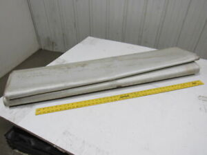 1 ply Smooth Nylon Backed V Guide Continuous Conveyor Belt 11 4 1 2 x 56