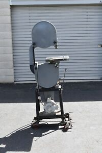 14 Delta Rockwell Bandsaw Metal Cutting With High And Low Gear