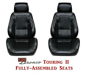 Standard Touring Ii Fully Assembled Seats For 1968 77 Ford Bronco S Any Color