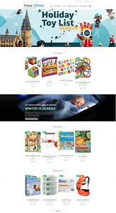 Toys Games Store Amazon Affiliate Ecommerce Website Free Hosting