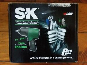 Sk Impact Wrench 1 2 Drive 92135 Magnesium Composite Swivel Inlet Oiler Nos