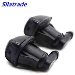 2pcs Windshield Washer Water Nozzle Spray Fits For 2008 2012 Chevrolet Malibu