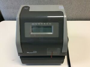 Acroprint 150rr4 Heavy Duty Automatic Time Recorder Prints Month Date Hour