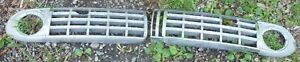 1946 1947 1948 Lincoln Complete Lower Grill Lh Rh Pair Bezels Center Front Oem