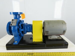 Armstrong 3x2x6 End Suction Centrifugal Pumps 200gpm 90 Lift 7 5hp 208 230 460v