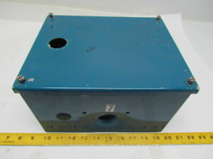 Hoffman A10086sc 8 x10 x6 Electrical Box enclosure W Screw Cover And Backplate