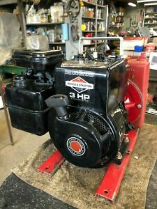 New 1981 3hp Briggs Stratton Engine With Cast Iron Centrifugal Water Pump