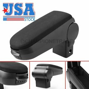 Us Carbon Black Center Console Armrest Cloth Padding For Vw Golf Jetta Bora Mk4