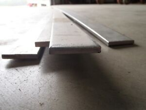 Stainless Steel Flat Bar Stock 1 1 2 X 1 4 X 10 Ft Astm A240 Tp304 Lot Of 4