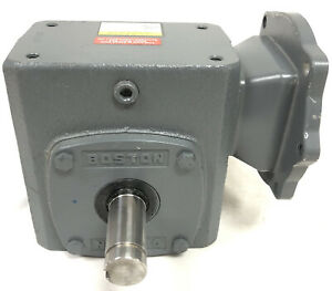 Boston Worm Gear Speed Reducer Motor Box F724 60ps b5 g t1 New Cast Iron