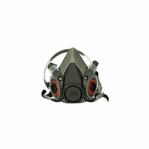 3m 6200 Reusable Half Face Respirator Size M Us Seller Us Stock Mask Only