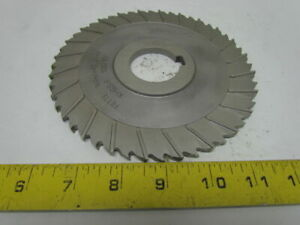 Fette 1082107 Staggered Tooth Side Milling Cutter 160x6x40mm Khss e Z 48 Teeth