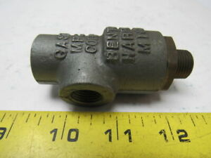 Gast Mfg A381 Pressure Lubricator Assembly For Vane Vacuum Pumps Compressors