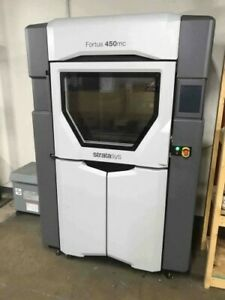 2017 Stratasys Fortus 450mc 3d Printer Build 16x14x16 W Licenses Nylon 12 Asa Pc