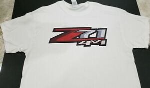 New Z71 4x4 T Shirt Chevrolet Silverado Colorado Bedside Truck Off Road Gmc