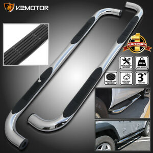 For 2000 2020 Chevy Tahoe Gmc Yukon 4dr Chrome Side Step Nerf Bar Running Boards