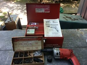 Milwaukee H d Magnum Screwshooter Kit 6754 1 With Case