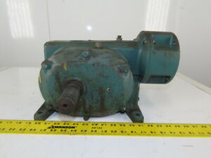Reliance Electric Master Xl 65cm21a Right Angle Speed Reducer 288 1 Ratio