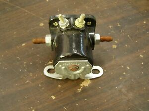 Nos Oem Ford Starter Solenoid 1956 1972 Fairlane Galaxie Mustang Truck Cougar