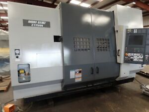 2007 Mori Seiki Zt2500y Cnc Lathe 4 Axis Twin Turret 12 Stations Each Fanuc 18it