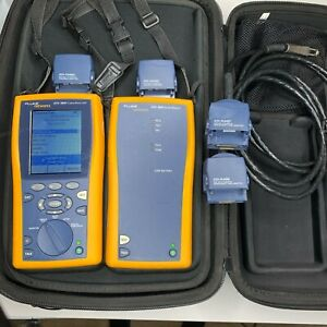 Fluke Dtx 1800 Cable Analyzer Kit Low Test Count