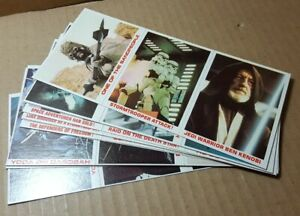 1980 Burger King/Coca Cola 36 Card Uncut Star Wars/Empire Strikes Back Set (H-3)