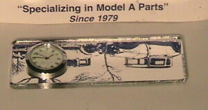 1928 1931 Model A Ford Clock Mirror