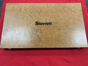 Starrett 935 Wood Case 12 300mm For 216z 12 436z 12 In Stock Vintage