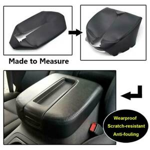 Armrest Center Console Leather Cover For Chevy Tahoe Suburban 07 13 Black