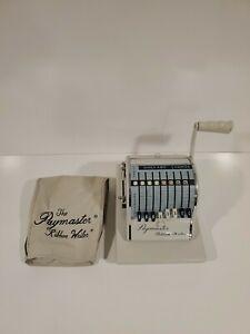 Nice Paymaster Ribbon Writer Machine 8000 Series Business Check W Key And Cover
