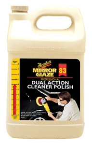 Meguiar s M83 Mirror Glaze Dual Action Cleaner Polish 1 Gallon