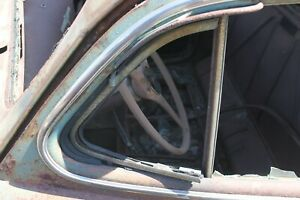 1941 1942 1946 1947 1948 Oldsmobile Cadillac Buick Pontiac Vent Window Right F