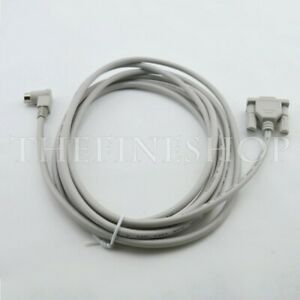 Plc Programming Cable Rs232 90 Degree For Ab Micrologix 1000 1200 1400 1500