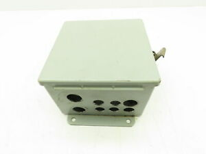 Hoffman Steel Electrical Enclosure Jic Box Backplate Type 12 Wall Mount 6x6x4