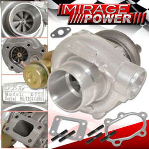 Gt28 Turbo Charger 8psi Internal Wastegate T25 86 A R Turbine Turbocharger