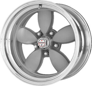 15x7 Gray Wheel American Racing Vintage 200s 5x4 5 6