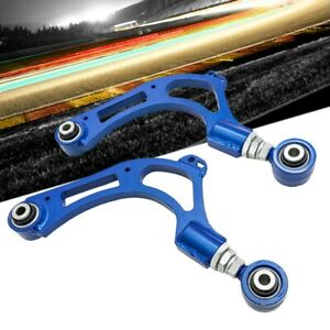 Megan Racing Blue Rear Upper Camber Arm For 17 20 Honda Civic Type r Fk8
