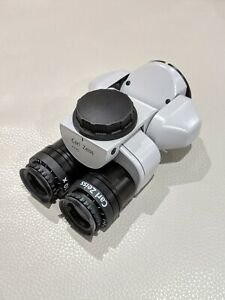 Carl Zeiss 0 180degree Inclinable Binoculars new Style 10x Magnetic Eyepieces