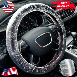 Us Stock Universal 500pcs Car Steering Wheel Cover For Plastic Covers Lots