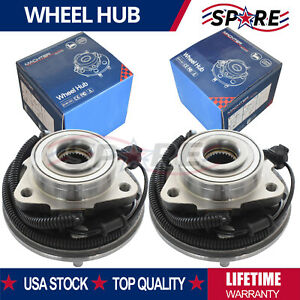 2 Front Wheel Bearing Hub For Ford Explorer Mercury Mountaineer 2002 2003 2005
