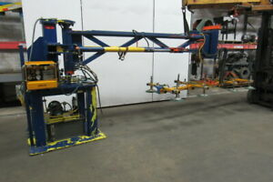 Anver Automated Vacuum 8 Cup Sheet plate Lifter handler 2 Axes