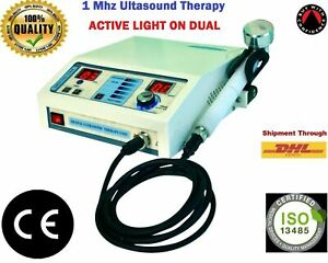 1 Mhz Ultrasonic Ultrasound Therapy Machine Pain Rellef Therapy Physiotherapy Ce