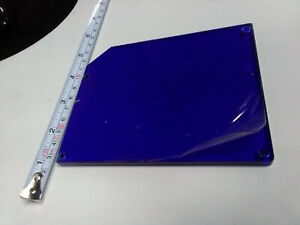 Acrylic Sheet Plate Blue 6mm Thick