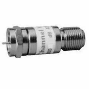 Channel Vision 3000 6 5pk 6db Attenuator In An In line f Mail Female 5pack