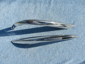 1960 Buick Lesabre Electra Rear Fin Corners Trim Pair