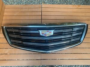 2018 2019 18 19 Cadillac Xts Front Bumper Center Grill Grille W Camera Ts14 Oem